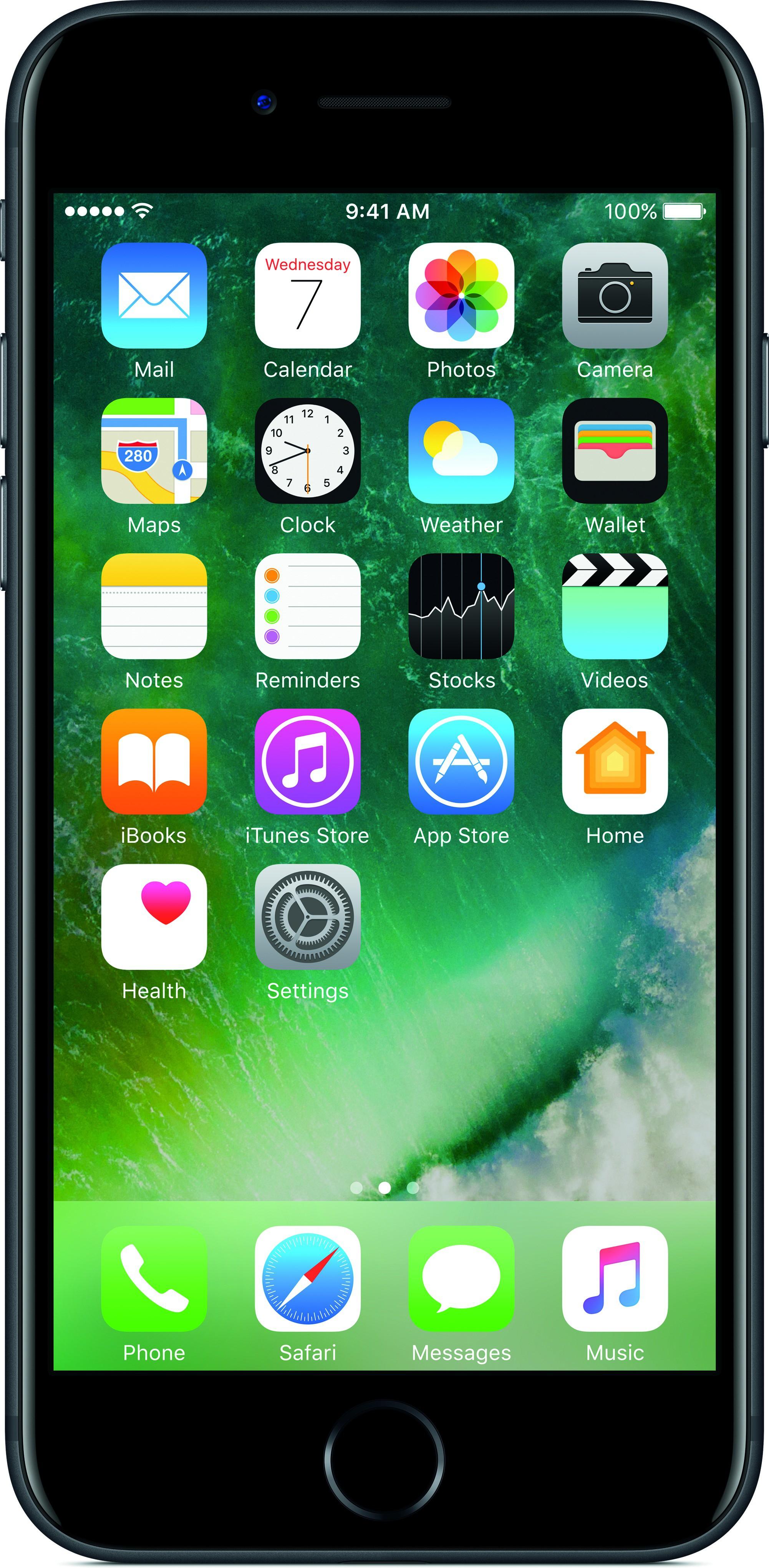 Apple iPhone 7 (Black, 128 GB)