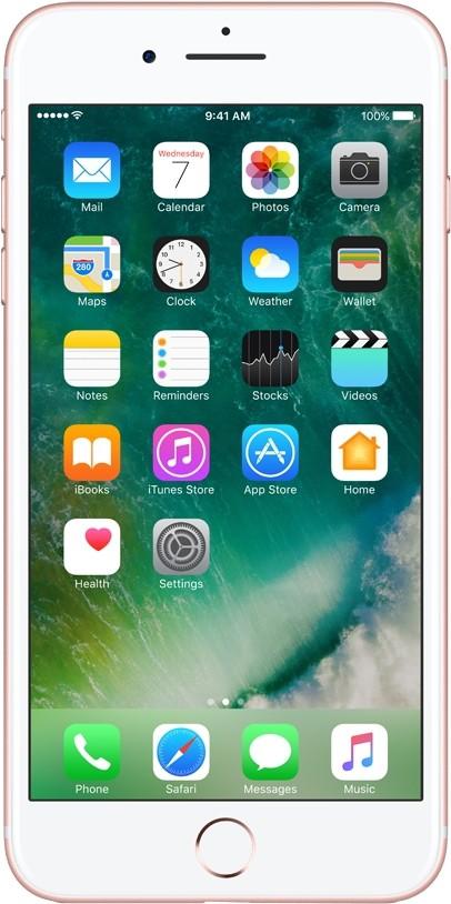 Apple iPhone 7 Plus (Rose Gold, 32 GB)