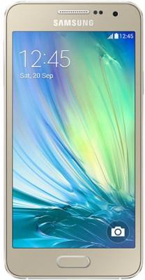 Samsung Galaxy A3 (Champagne Gold, 16GB) Flipkart Rs. 8899