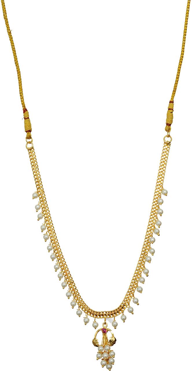 09a024a0f6ca8 Womens trendz nlagg1044 Drakash Moti Haar Crystal Yellow Gold ...