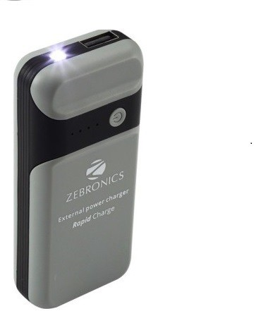 Buy Zebronics Zeb Pg4000l1 4000 Mah Power Bank Silver Online Get