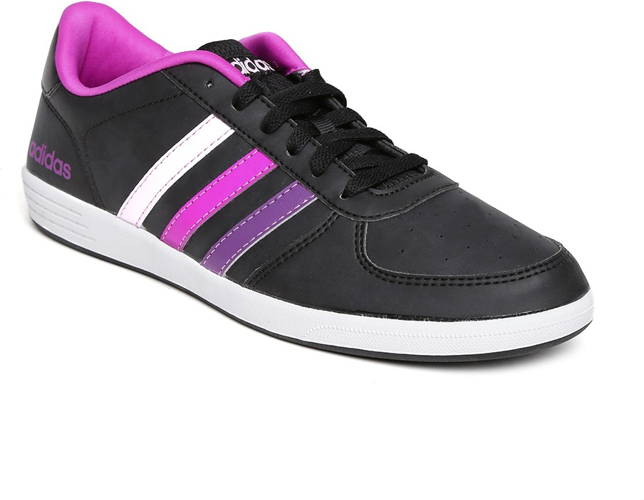 best website b14fb 7a954 Adidas Neo Women Black Baseline Vs Sneakers