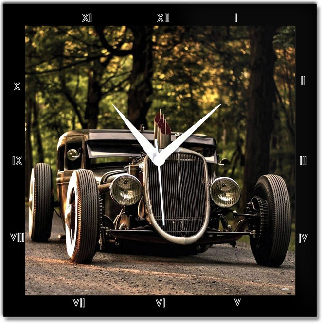 Shoprock ws0178 Vintage Car Analog Wall Clock - Best Price in India