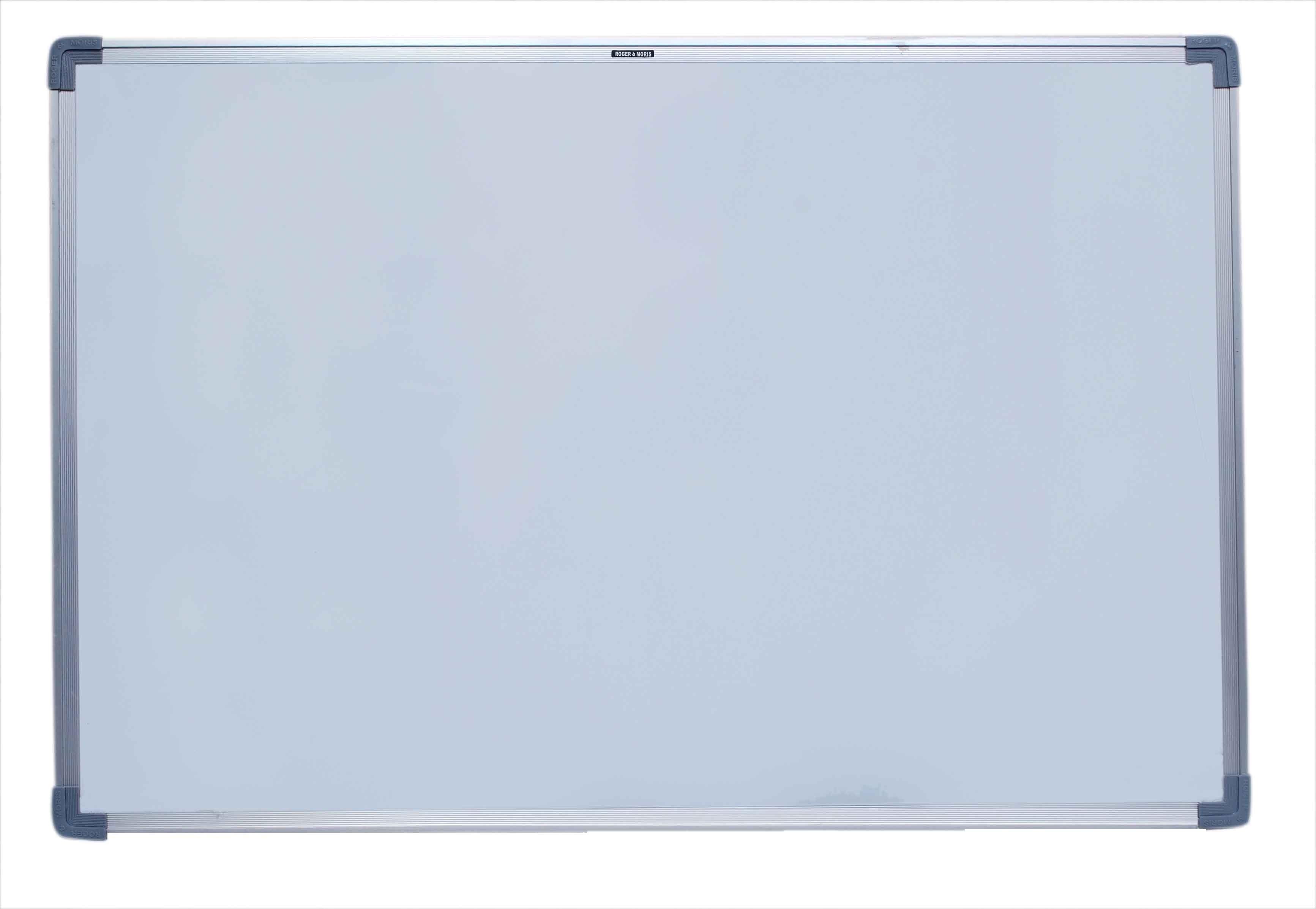Roger & Moris Regular Non Magnetic Melamine Medium Whiteboards(Set of 1, White)