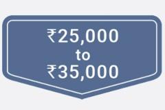 ₹25,000 to ₹35,000