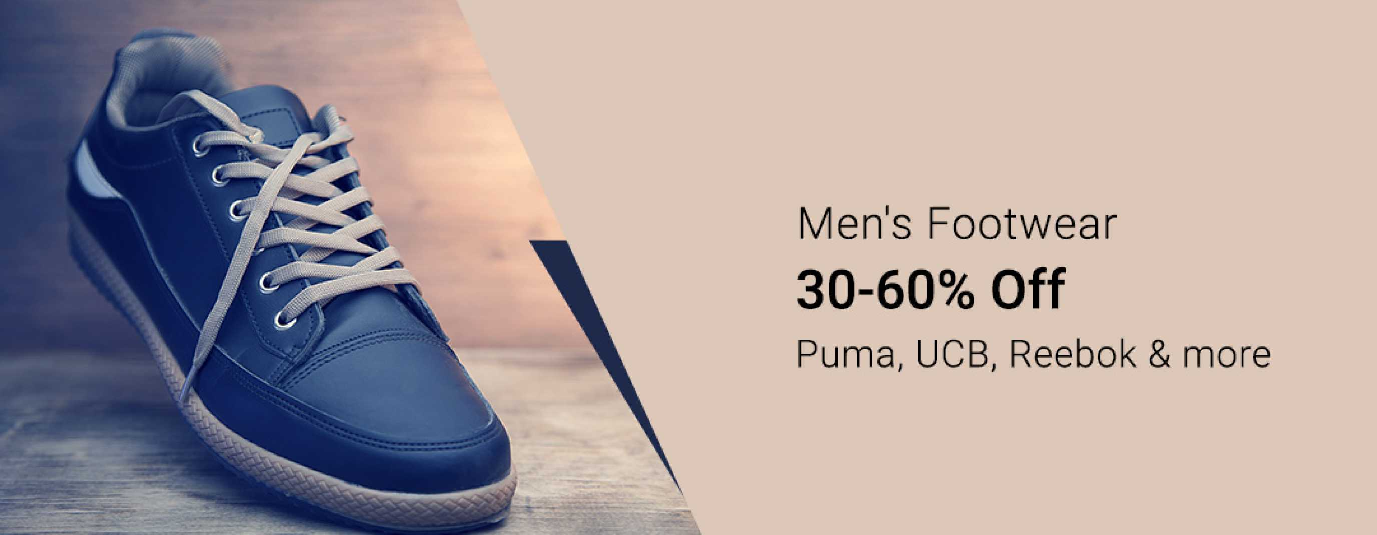 Men's Footwear - Buy Men's Footwear & Shoes Online at Best Price ...
