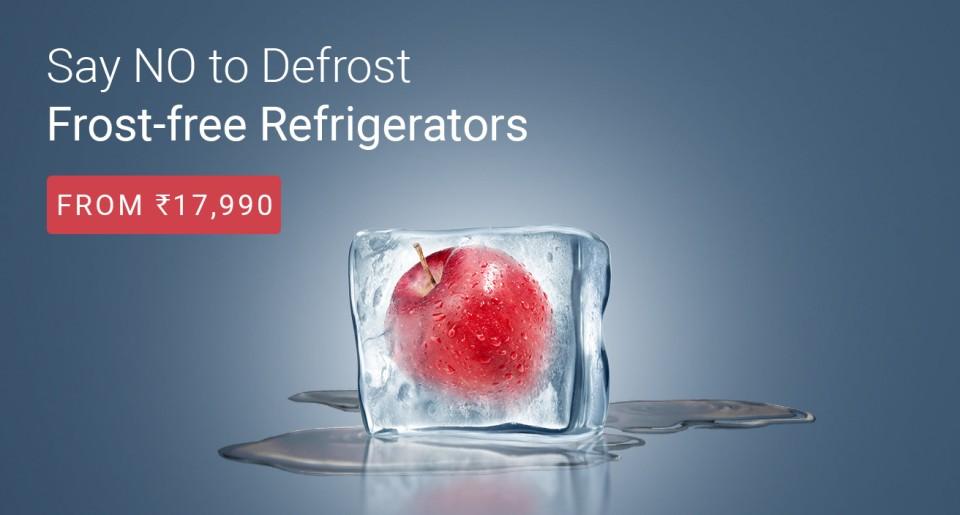 Refrigerator Fridge Offers Flipkart Freedom Sale Coupons Promo Codes Deals HDFC offers