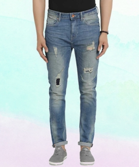 6a8c2cdadf Jeans for Men - Buy Stylish Men's Jeans Online at Low prices | Low Waist  Jeans, Skinny Jeans & More | Flipkart.com